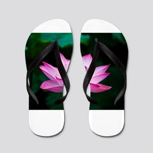 Indian Lotus Flower Flip Flops